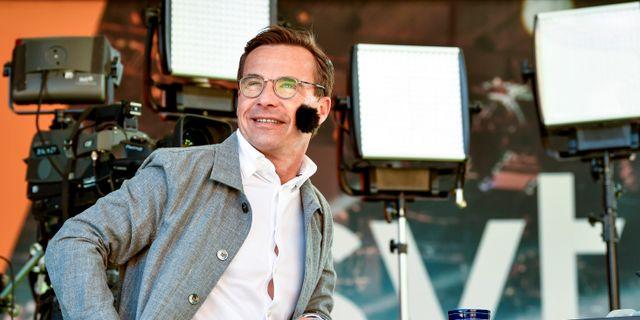 M-ledaren Ulf Kristersson.  Henrik Montgomery/TT / TT NYHETSBYRÅN