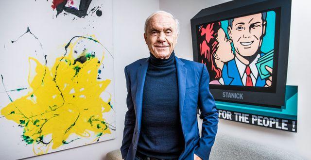 Sven-Olof Johansson.  Lars Pehrson/SvD/TT / TT NYHETSBYRÅN