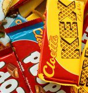 Illustrationsbild: Olika chokladkakor från Cloetta. Henrik Montgomery / TT NYHETSBYRÅN