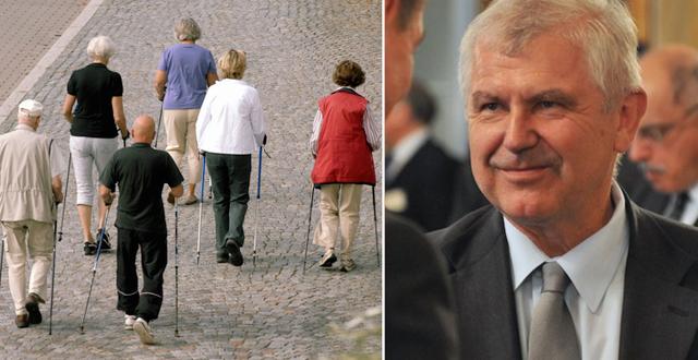 Äldre på promenad/Ulf Dahlsten TT/Wikipedia Common