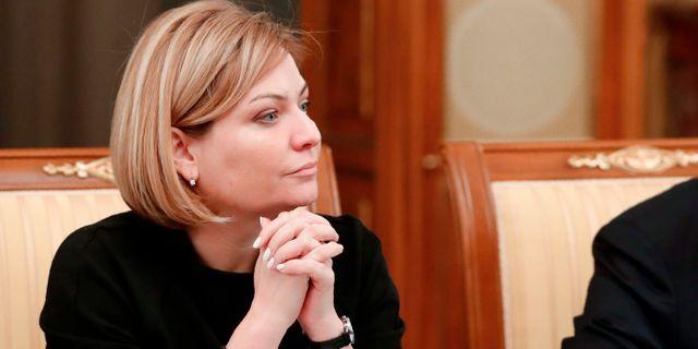 Rysslands nya kulturminister Olga Ljubimova  Dmitry Astakhov / TT NYHETSBYRÅN