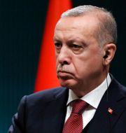 Turkiets president Recep Tayyip Erdogan. Burhan Ozbilici / TT NYHETSBYRÅN/ NTB Scanpix