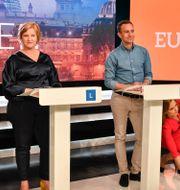 Bild från debatten. Anders Wiklund/TT / TT NYHETSBYRÅN