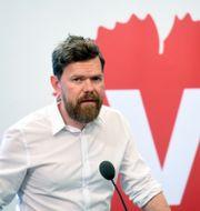 Vänsterpartiets partisekreterare Aron Etzler Fredrik Sandberg/TT / TT NYHETSBYRÅN