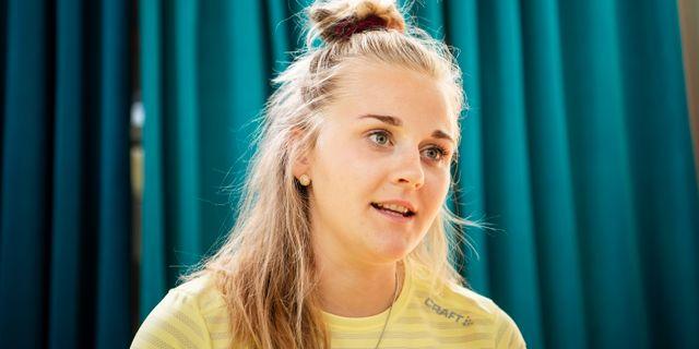 Stina Nilsson. Arkivbild. JOHANNA LUNDBERG / BILDBYRÅN