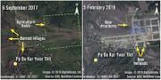 Satelitbilder är en del av Amnestys bevisning TT