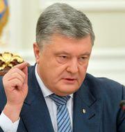 Ukrainas president Petro Porosjenko. HANDOUT / TT NYHETSBYRÅN