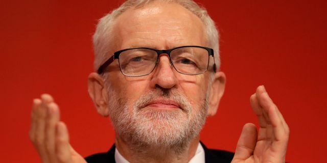 Labours partiledare Jeremy Corbyn. Kirsty Wigglesworth / TT NYHETSBYRÅN