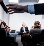 Carina Åkerström, Handelsbankens vd och koncernchef. Magnus Hjalmarson Neideman/SvD/TT / TT NYHETSBYRÅN