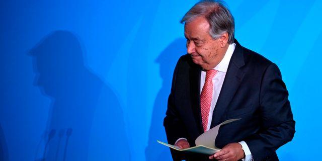 António Guterres JOHANNES EISELE / AFP