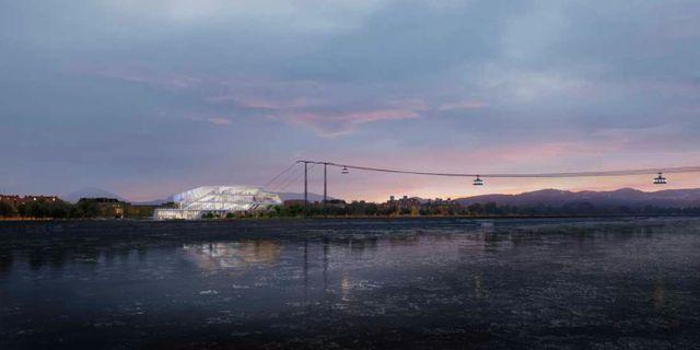 Linbanan kommer att börja byggas 2020. PYXID