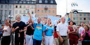 Moderata ministrar vid Pride 2014 ANNIKA AF KLERCKER / TT / TT NYHETSBYRÅN