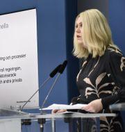 Socialminister Lena Hallengren sjösatte utredningen på onsdagen. Marko Säävälä/TT / TT NYHETSBYRÅN