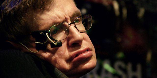 Stephen Hawking, 2006. JOEL SAGET / AFP