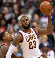 LeBron James spelar i NBA-laget Cleveland Cavaliers. Nick Wass / TT NYHETSBYRÅN/ NTB Scanpix