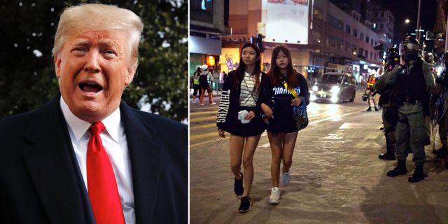 Donald Trump/Hongkong. TT