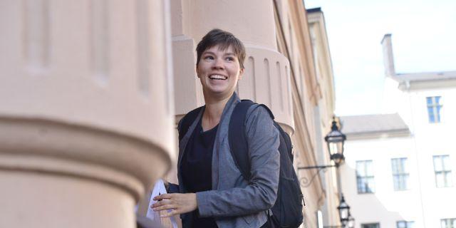Annika Hirvonen Falk. Stina Stjernkvist/TT / TT NYHETSBYRÅN