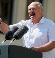 Aleksandr Lukasjenko. Dmitri Lovetsky / TT NYHETSBYRÅN