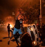 En av bilderna som AP:s fotografer prisades för. Evan Vucci / TT NYHETSBYRÅN