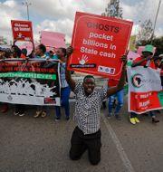 Demonstrationerna i Kenya. Ben Curtis / TT / NTB Scanpix
