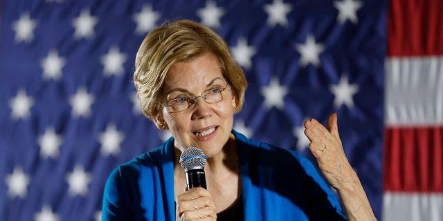 Elizabeth Warren.  Charlie Neibergall / TT NYHETSBYRÅN/ NTB Scanpix