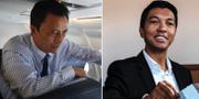 Ravalomanana, 68, och Rajoelina, 44. TT
