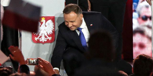 Andrzej Duda. Czarek Sokolowski / TT NYHETSBYRÅN