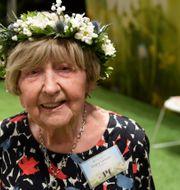 105-åriga Dagny Carlsson. Anders Wiklund/TT / TT NYHETSBYRÅN