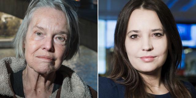 Merete Mazzarella och Karin Olsson. TT, Expressen