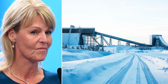 Anna Hallberg/Gruvan i Kaunisvaara. TT