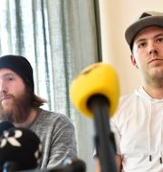 Robin Dahlén och Christian Karlsson Noella Johansson/TT / TT NYHETSBYRÅN