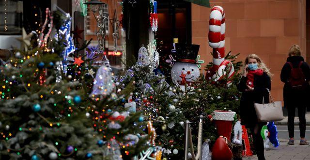 Jul i London. Matt Dunham / TT NYHETSBYRÅN