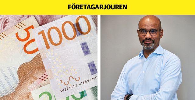 Jan Amethier, vd för Cinder Invest