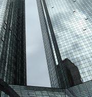 Deutsche banks huvudkontor.  Ralph Orlowski / TT NYHETSBYRÅN