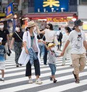 Sommar-Tokyo. Hiro Komae / TT NYHETSBYRÅN