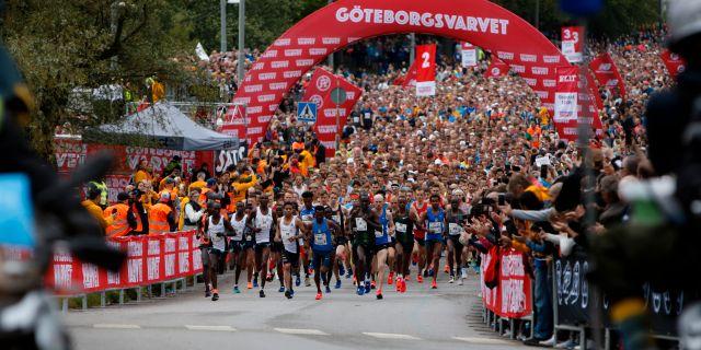 Göteborgsvarvet 2019. Thomas Johansson/TT / TT NYHETSBYRÅN