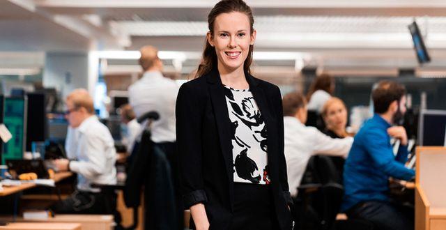Susanne Spector. Pressfoto: Nordea