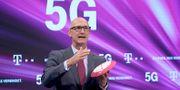 Arkivbild: Deutsche Telekoms vd Timotheus Höttges. Oliver Berg / TT NYHETSBYRÅN