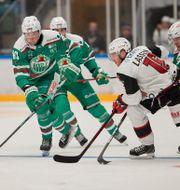 Bild från matchen. Andreas Hillergren/TT / TT NYHETSBYRÅN