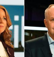Annie Lööf / Jonas Sjöstedt TT