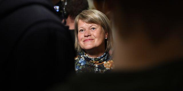 Ulla Andersson (V). Jessica Gow/TT / TT NYHETSBYRÅN
