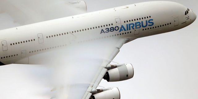 A380. Francois Mori / TT NYHETSBYRÅN/ NTB Scanpix