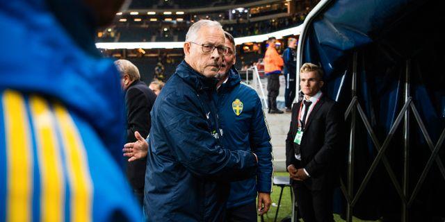 Lars Lagerbäck. JOEL MARKLUND / BILDBYRÅN