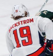 Bäckström gör mål. Brad Rempel / TT NYHETSBYRÅN