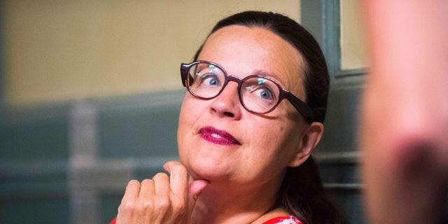 Utbildningsminister Anna Ekström  Hanna Franzén/TT / TT NYHETSBYRÅN