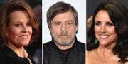 Sigourney Weaver,  Mark Hamill och Julia Louis-Dreyfus. TT