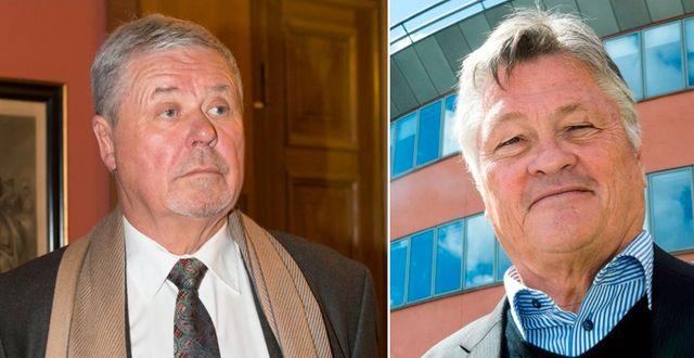 Percy Nilsson och Dan Olofsson. TT & News Oresund