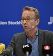 Björn Eriksson. Anders Wiklund/TT / TT NYHETSBYRÅN