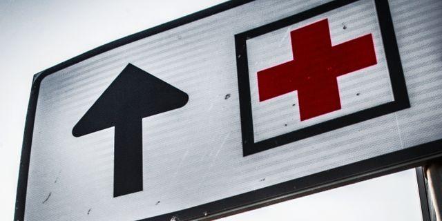 Kvinna skickades hem med hjarnblodning