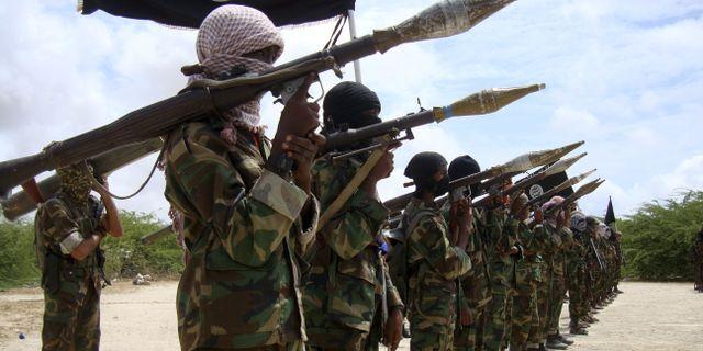 Arkiv- al-Shabaab i mars 2016. FEISAL OMAR / TT NYHETSBYRÅN